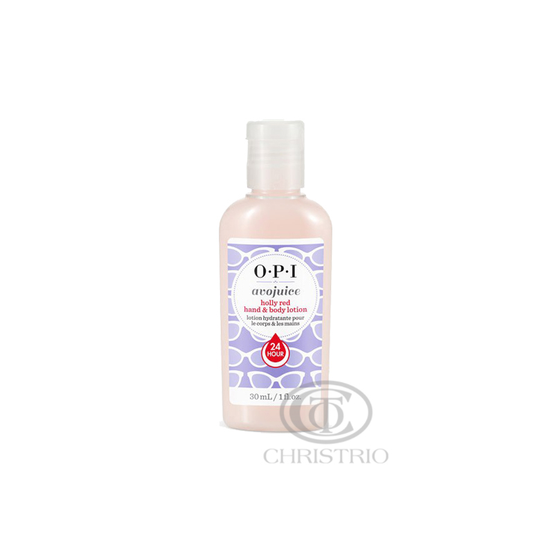 OPI Avojuice Hydrating Skin Quenchers - Holy Red Hand & Body Lotion 30ml