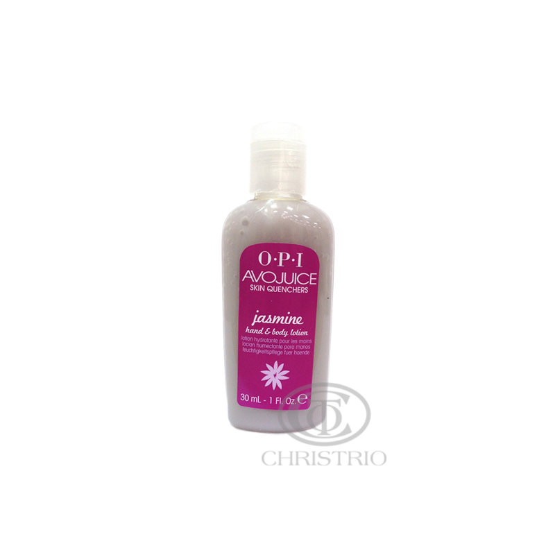 OPI Avojuice Hydrating Skin Quenchers - Jasmine Hand & Body Lotion 30ml