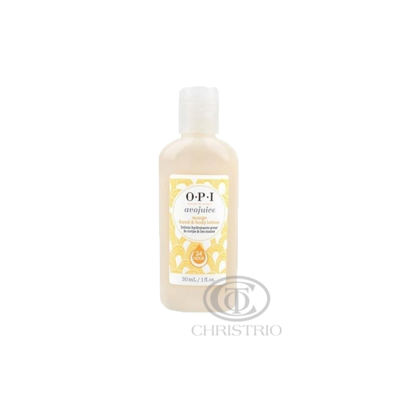 OPI Avojuice Hydrating Skin Quenchers - Mango Juicie Hand & Body Lotion 30ml