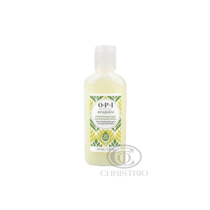 OPI Avojuice Hydrating Skin Quenchers - Sweet Lemon Sage Hand & Body Lotion 30ml