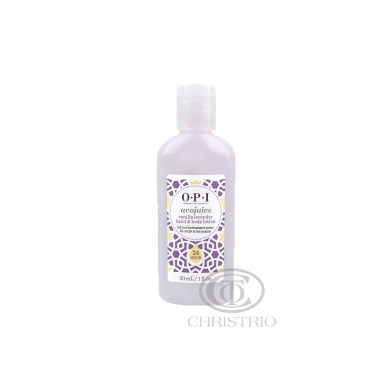 OPI Avojuice Hydrating Skin Quenchers - Vanilla Lavender Hand & Body Lotion 30ml
