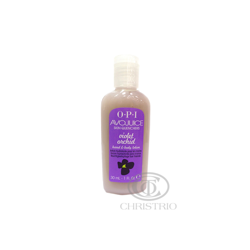 OPI Avojuice Hydrating Skin Quenchers - Violet Orchid Hand & Body Lotion 30ml