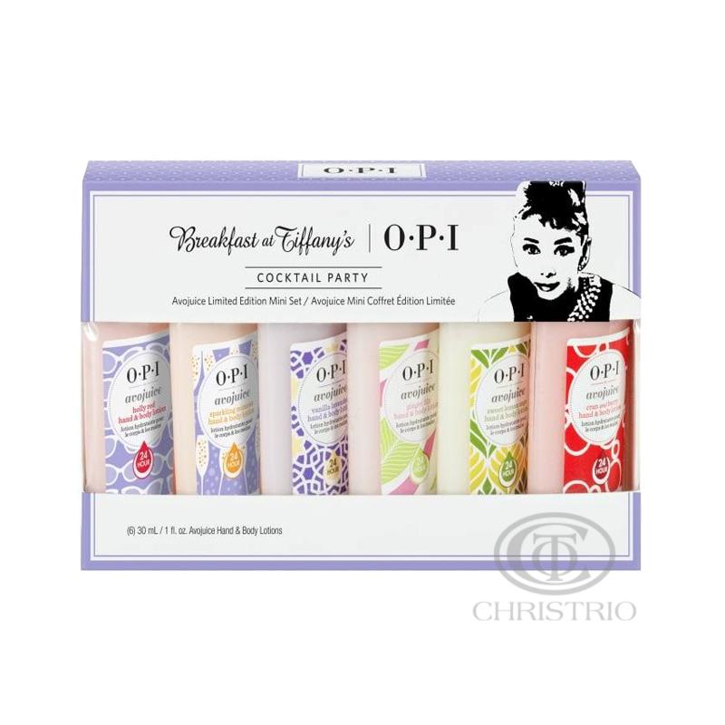 OPI Avojuice Lotion 1oz-30ml Limited Edition Mini set 6pcs