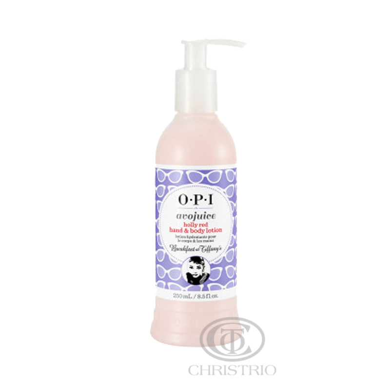 OPI Avojuice Lotion 8,5oz-250ml Holly red