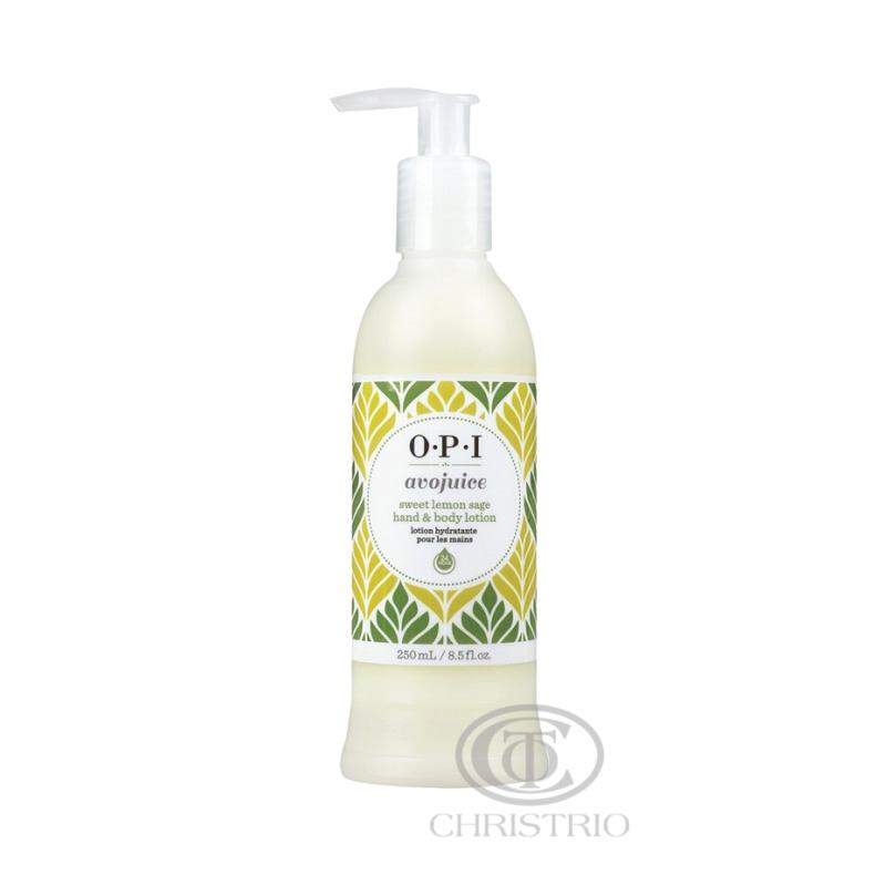 OPI Avojuice Lotion 8,5oz-250ml-sweet lemon sage