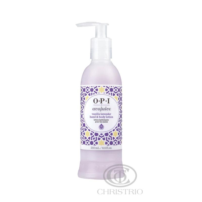 OPI Avojuice Lotion 8,5oz-250ml vanilla-lavender