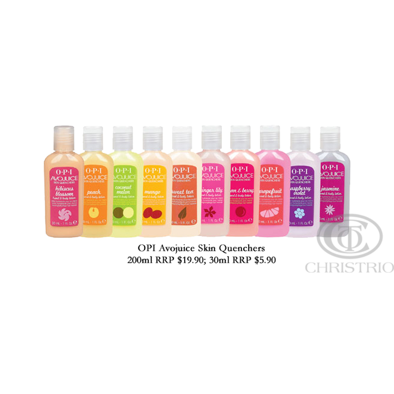 OPI Avojuice Skin Quenchers 1oz30ml 9pack