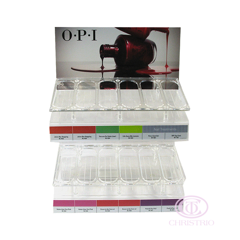 OPI Display Stand S 6x2 rows (36)