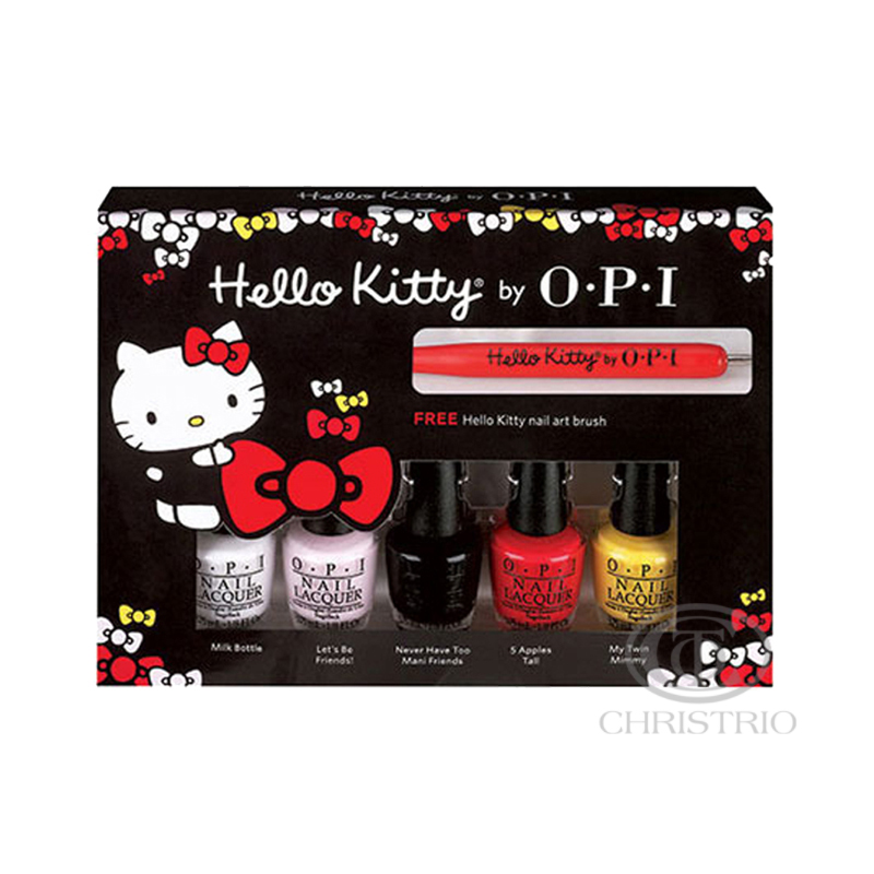 OPI Hello Kitty Friend Pack 5x0,13oz-3,75ml