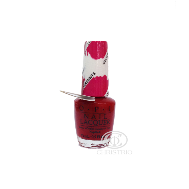 OPI Nail Lacquer ColorPaint Red 15ml