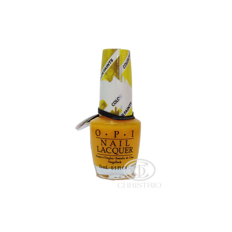 OPI Nail Lacquer ColorPaint Yellow 15ml