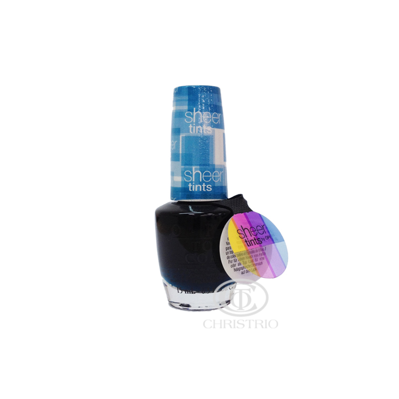 OPI Top Coat Sheer Tint Blue