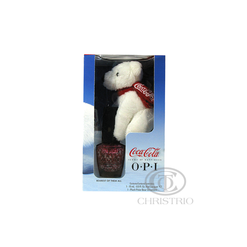 OPI nail polish Coca-Cola + Polar Bear 0,5oz 15ml