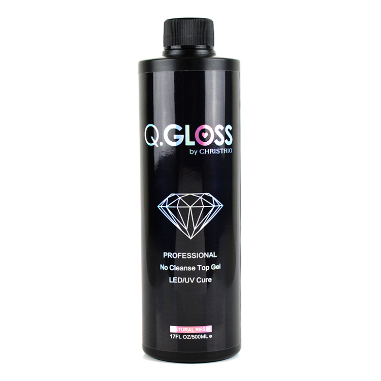 Q.Gloss No Cleanse Top Gel – Refill (500ml)