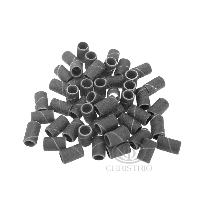 Sanding bands 100pcs - black-CHINA