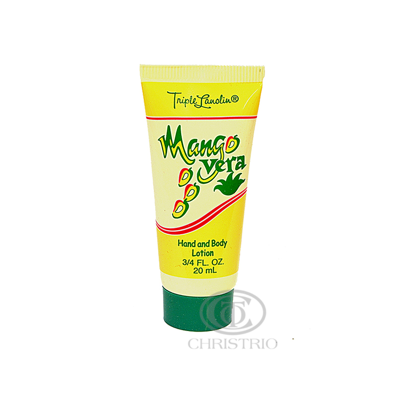 TRIPLE LANOLIN Mango Vera Lotion Pack 20ml