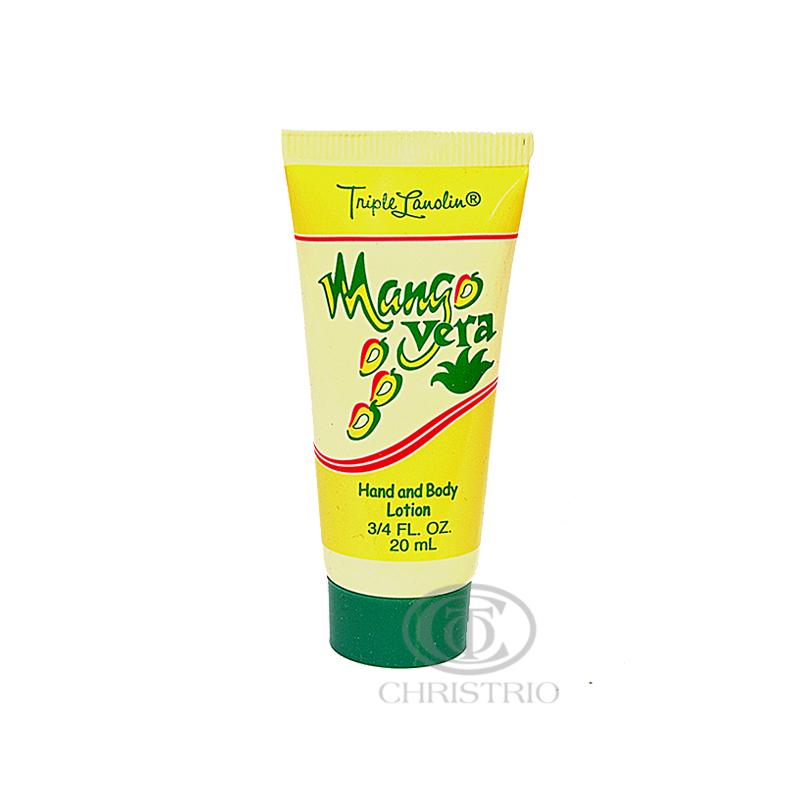 TRIPLE LANOLIN Mango Vera Lotion Pack 20ml