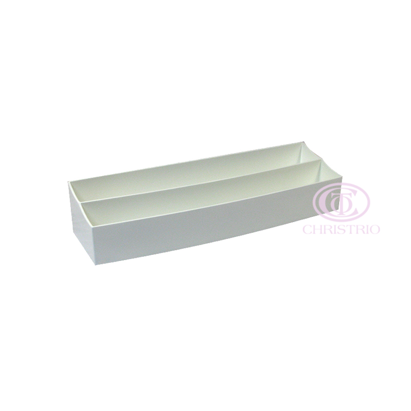 Wooden polish white stand (for table) 36x8,5x11cm