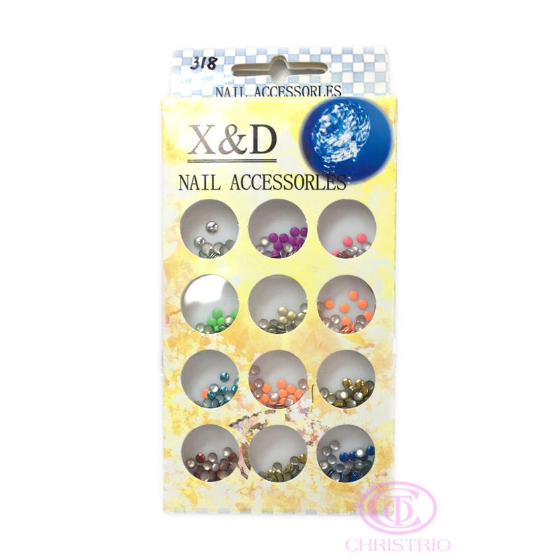 X&D Nail Accessorles - pattern rhinestones