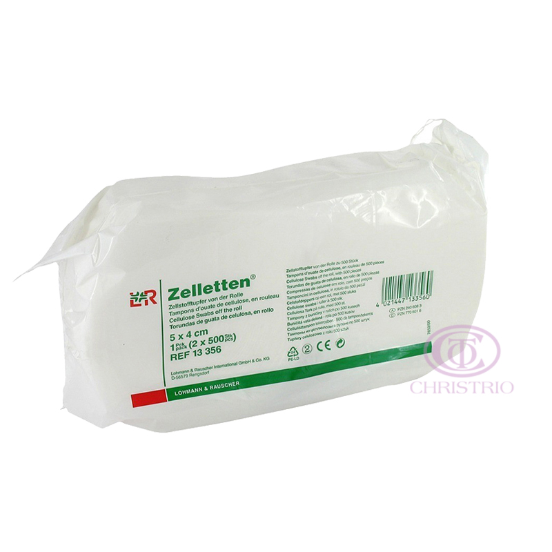 ZELLETTEN Cellulose Swabs