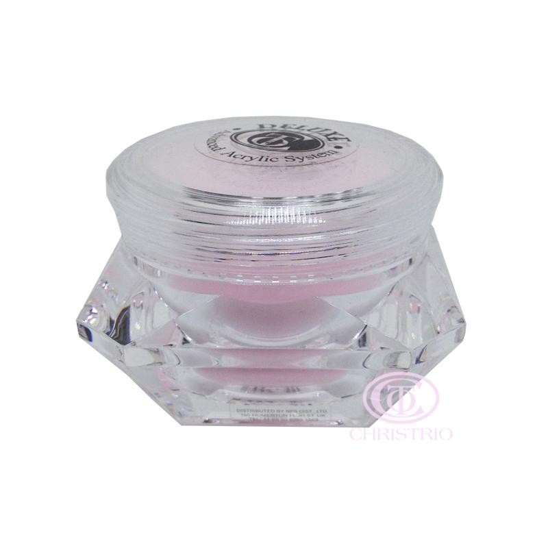 CHRISTRIO Deluxe Acrylic Polymer (30g) diamond jar French Pink