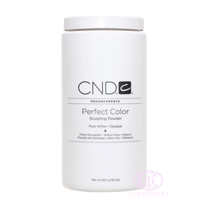 CND Perfect Color Sculpting Powder Pure White 32oz-907g