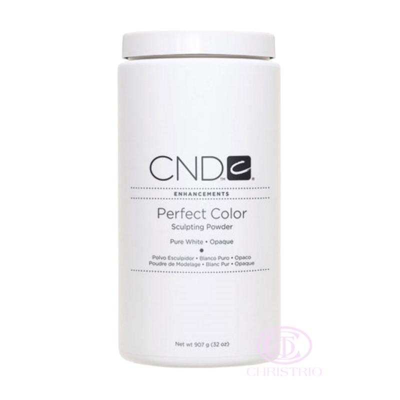 CND Perfect Color Sculpting Powder Pure White 32oz-907g