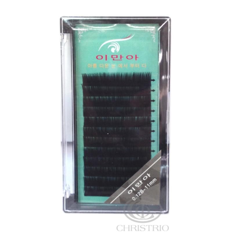Eyelash 0.12B-11mm blue