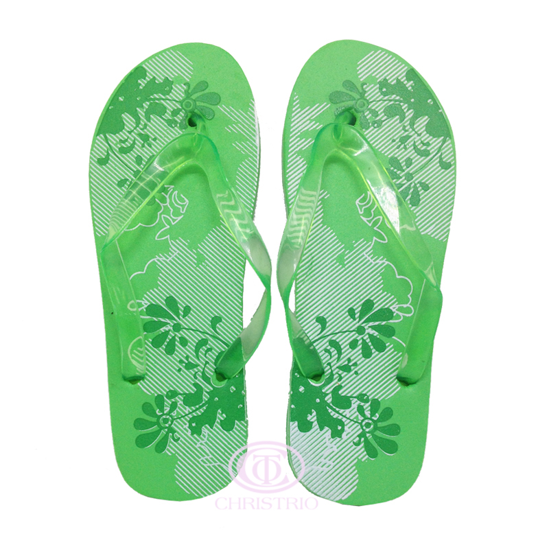 Slipper Sandal Green