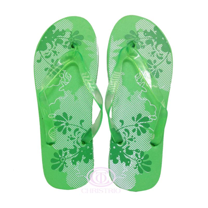 Slipper Sandal Green
