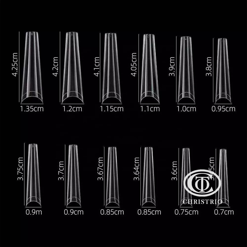 Tip Extra Long 42021 (c-Clear-600pcs)