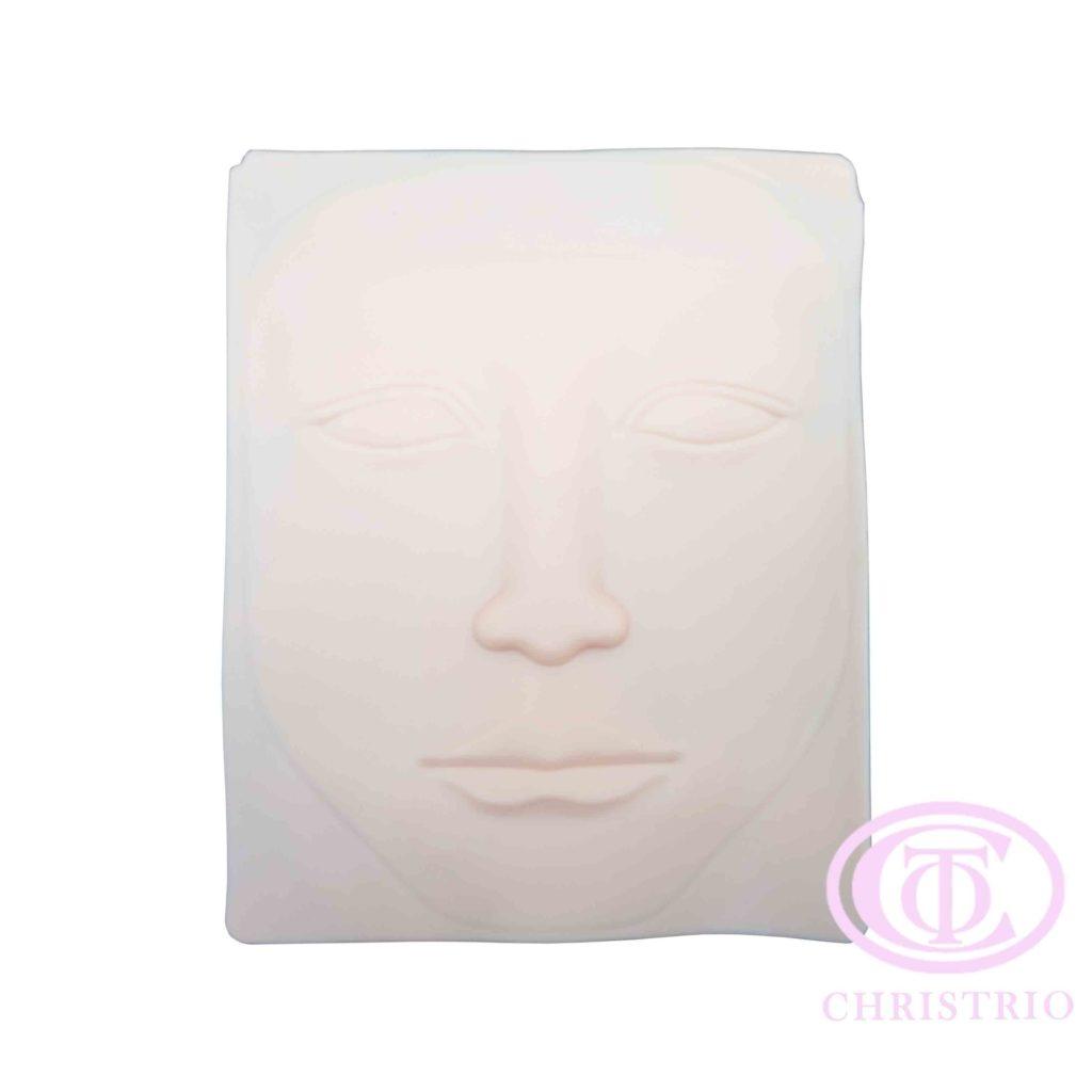 Plastic face – Trénovací umělý obličej na tetování
