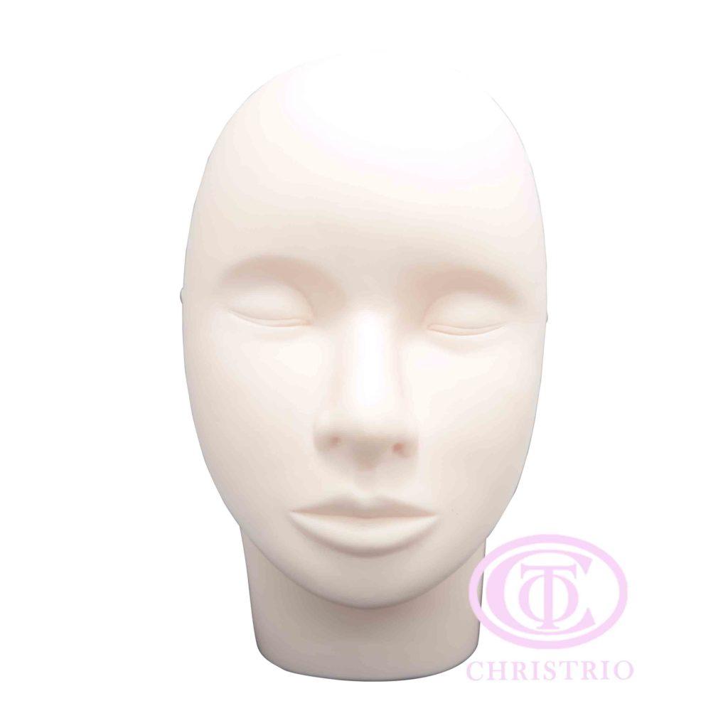 Plastic head – Trénovací umělý obličej na tetování