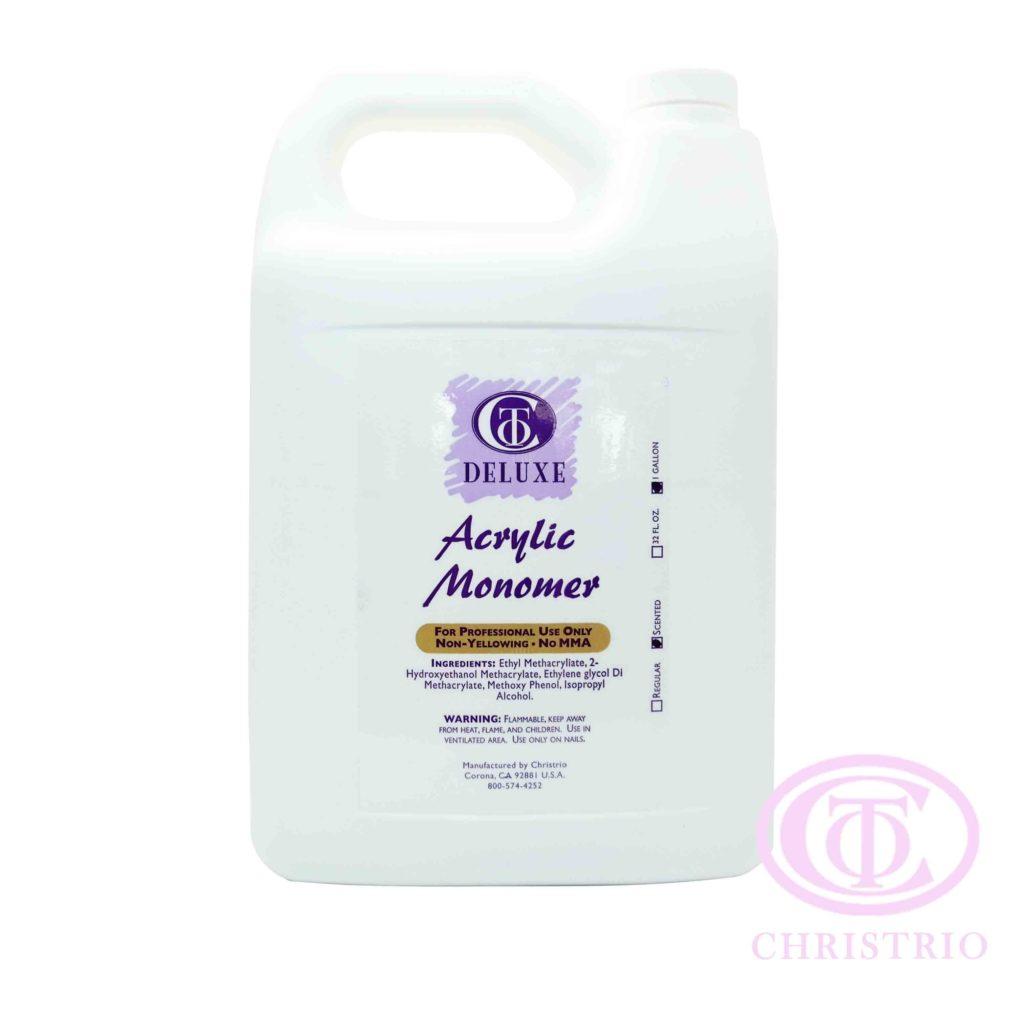 CTO Liquid Deluxe Acrylic monomer   – Tvrdidlo pro akrylovou modeláž (1gal/3,79l)