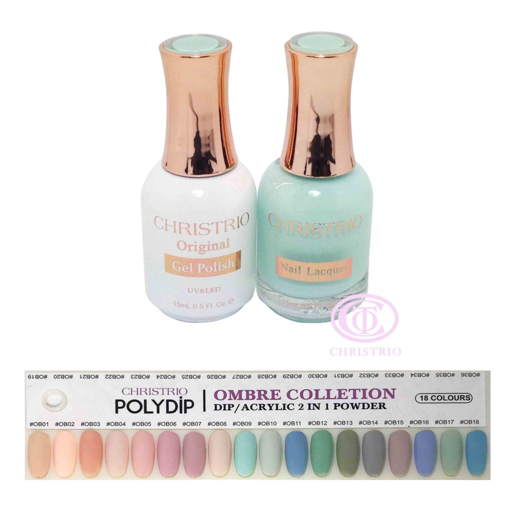 Poly Matching Gel Set Ombre (18 colours-15ml)