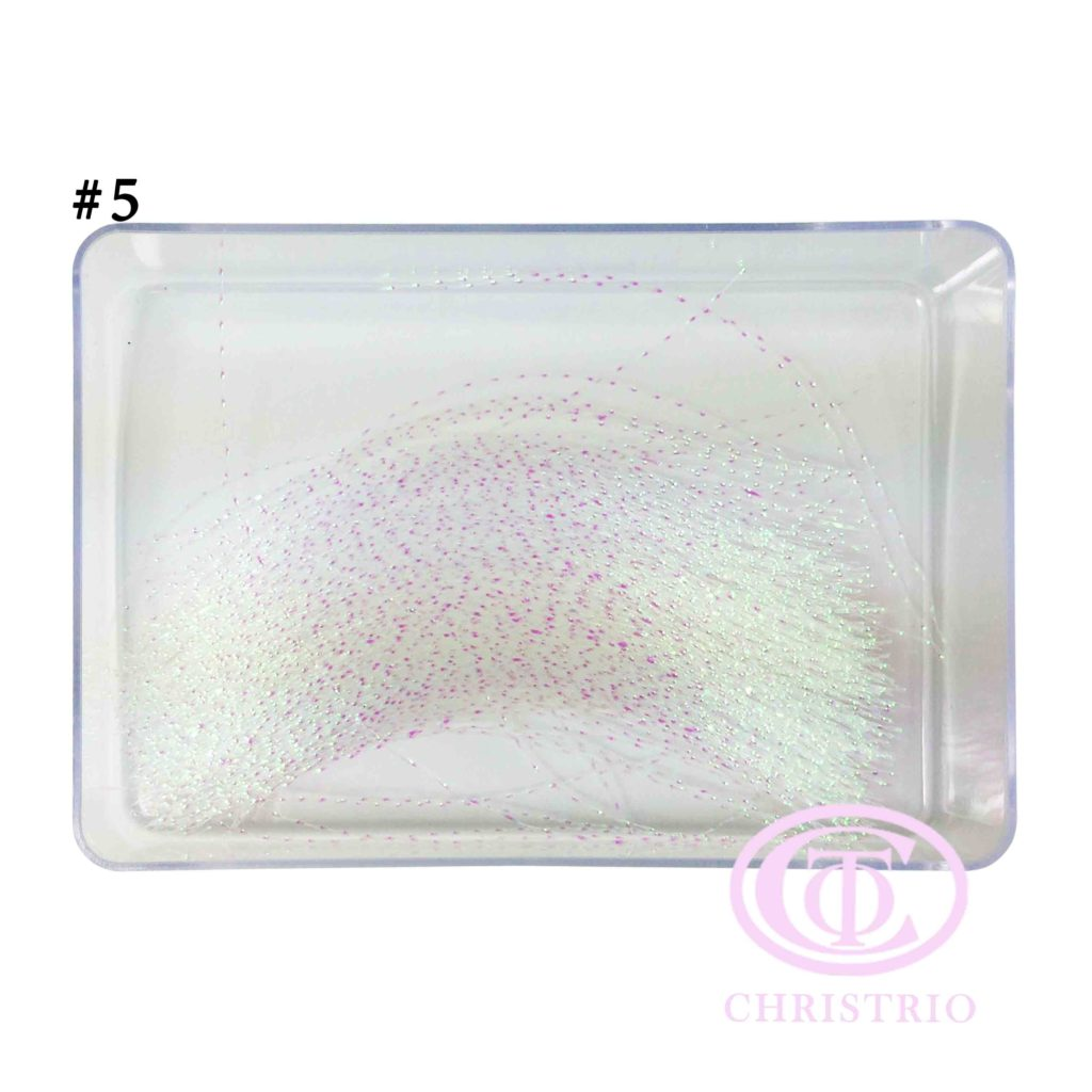 Optic fiber nail art (102020-5)