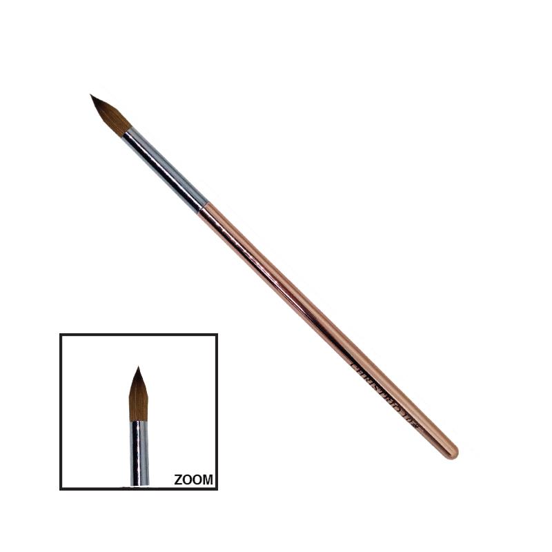Christrio Brush Gold Handle #10