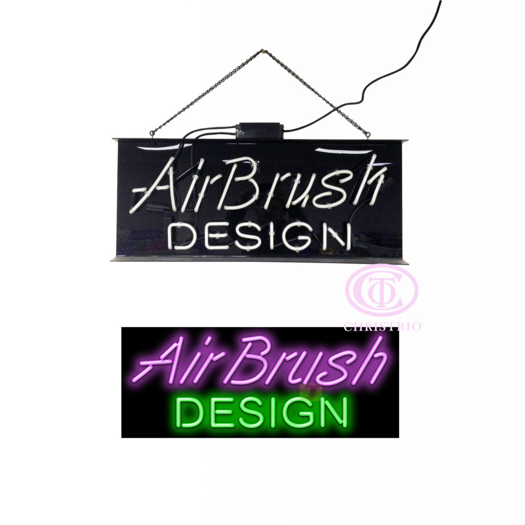 Nails Neon Sign  (Inclined-80cm*33cm*7cm)