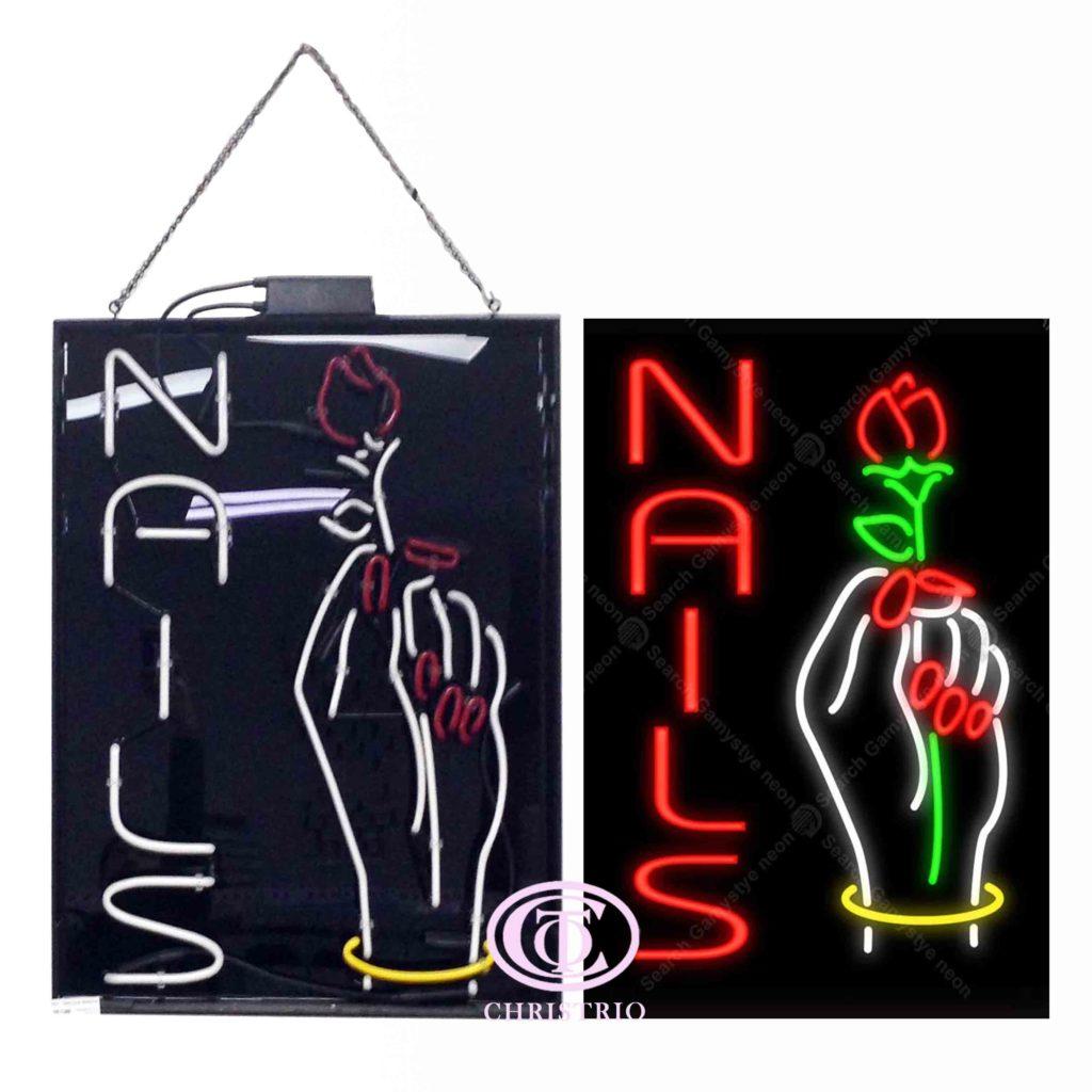 Nails Neon Sign (78cm*60cm*7cm)