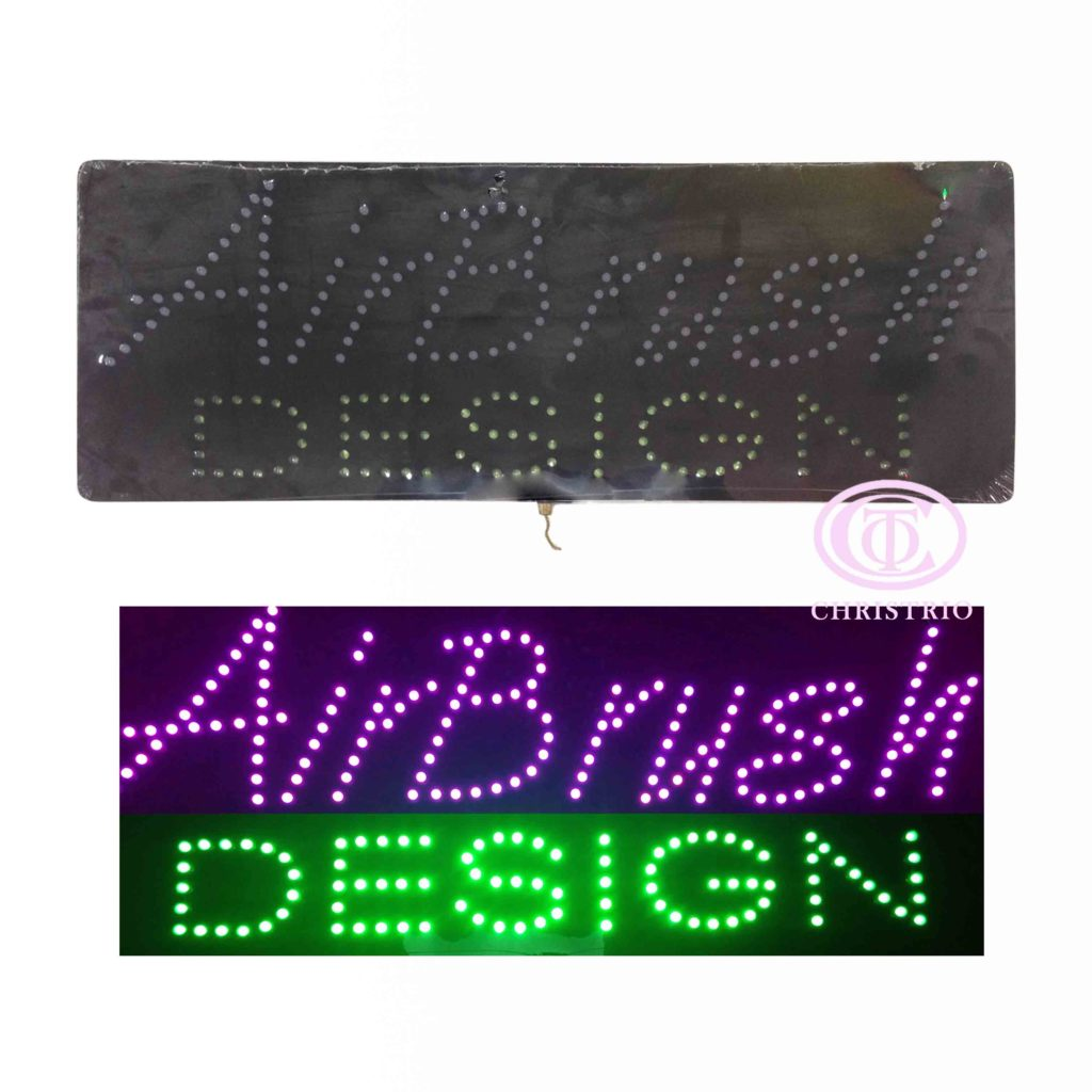 Nails Diot Sign (Inclined-81cm*33cm*2cm)