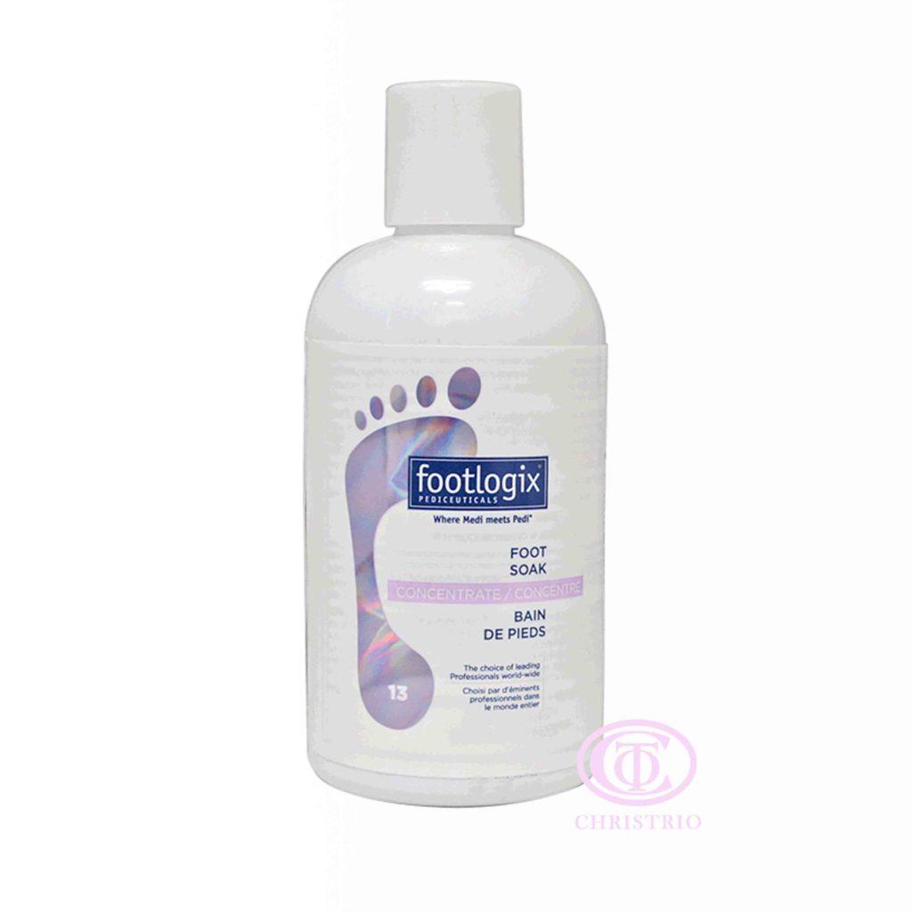 Footlogix (13) Foot Soak – Koncentrovaná pedikúrní lázeň (250ml)